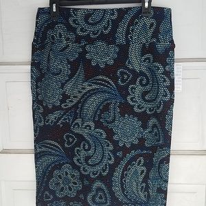 LuLaRoe Cassie Pencil Skirt- size Large